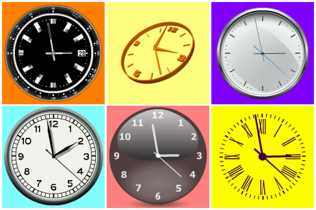 Selection of Flash clocks