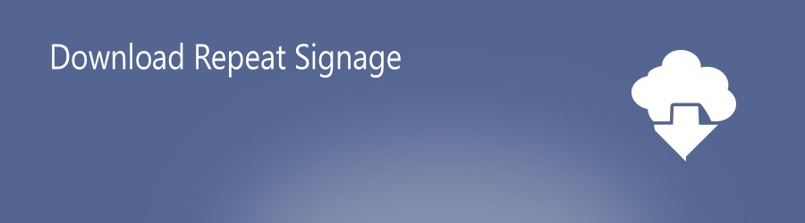 Download digital signage software