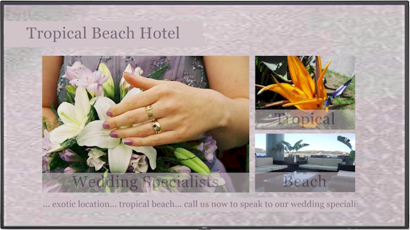Repeat Signage digital signage software for hotels