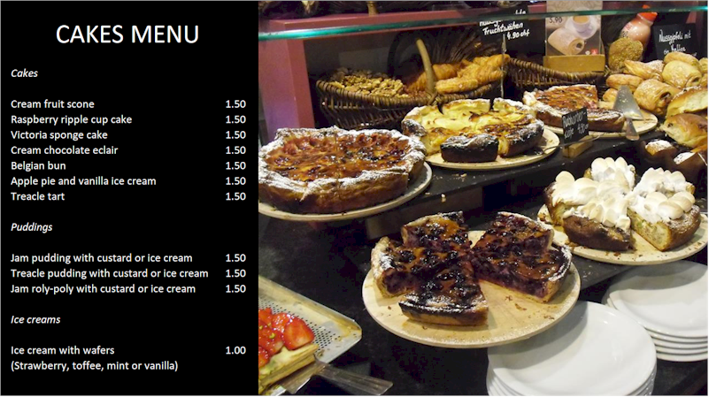 Repeat Signage digital signage software for restaurants and cafes